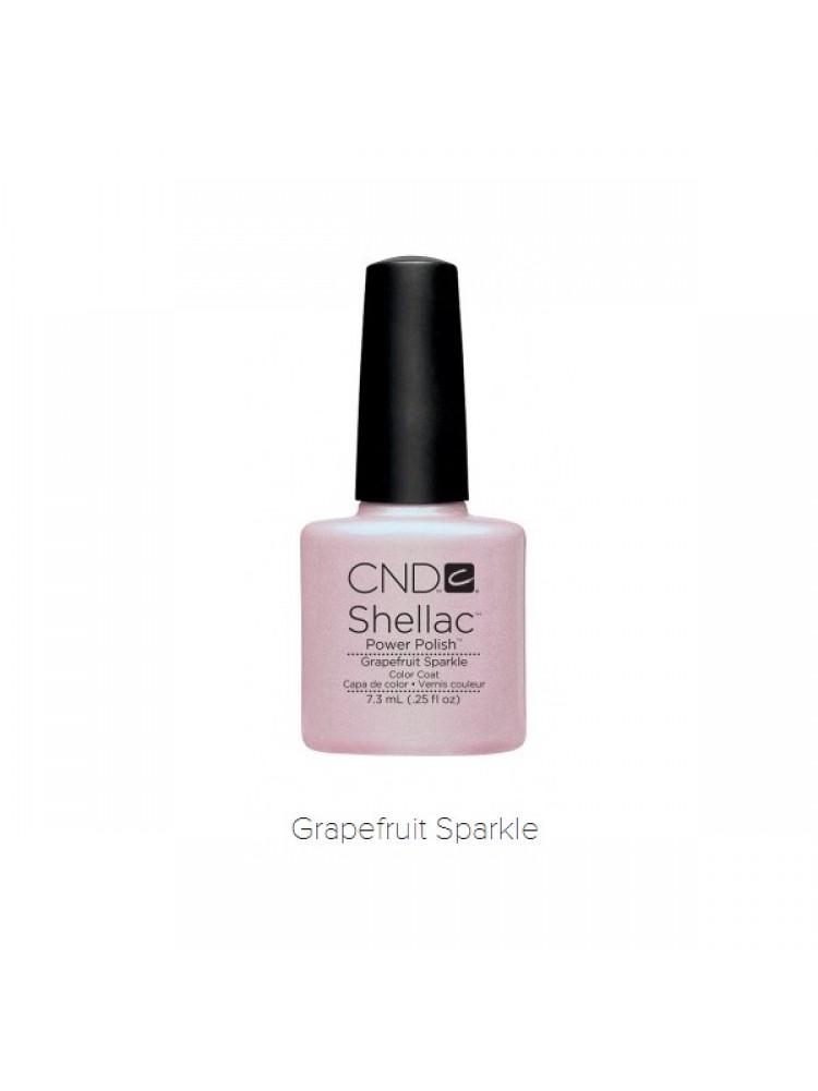 CND Shellac Grapefruit Sparkle №57