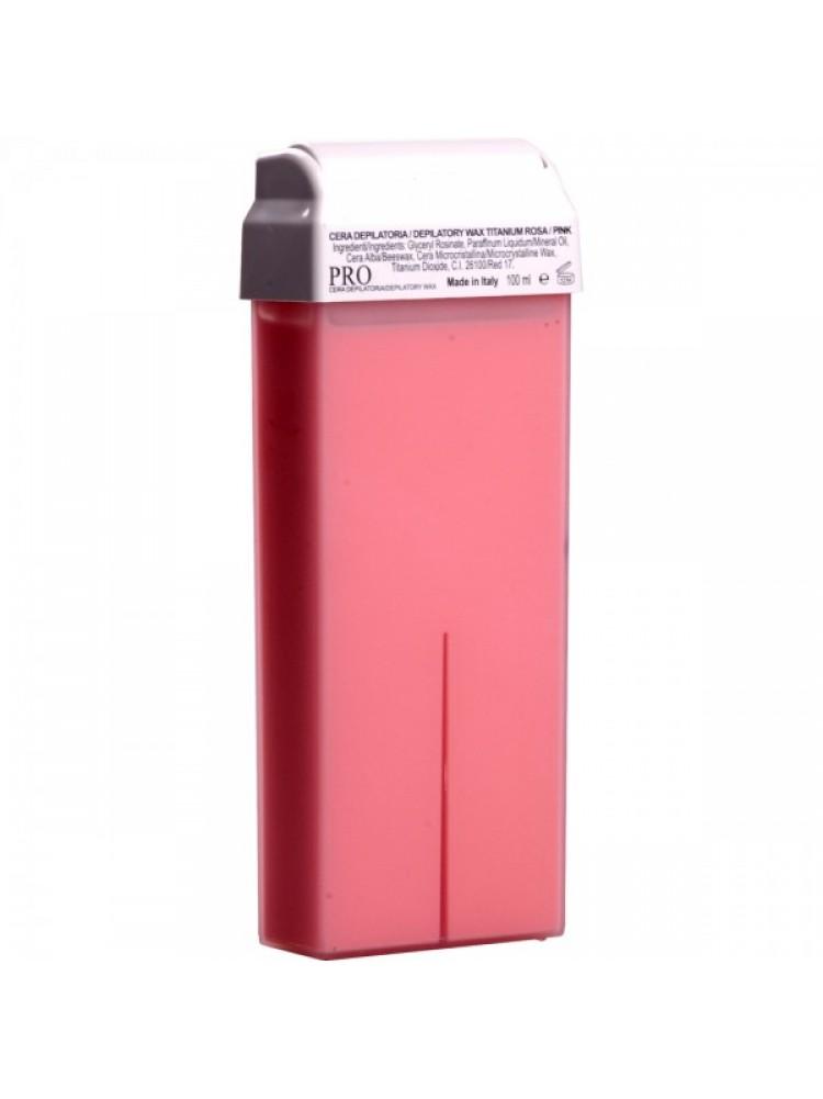 Воск в картридже PRO - Розовый