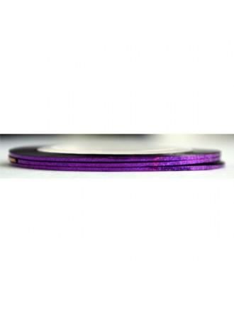 Лента для дизайна фиолетовая