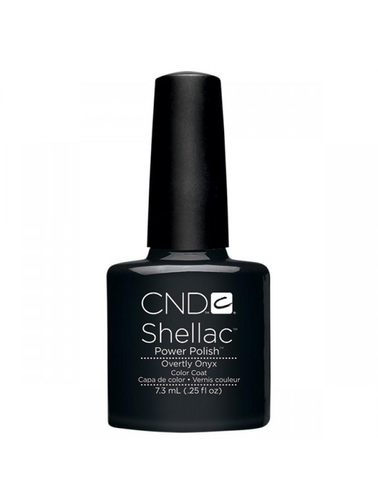 CND Shellac OVERTLY ONYX №49