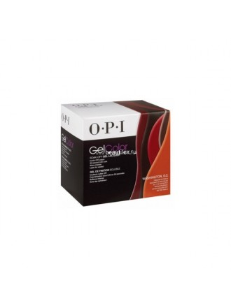 "OPI Набор гель-лаков GelColor ""Washington""(GCW53-GCW58+AC830 (Фольга-обертка Expert Touch Remover 20 шт.) )Kit 1 GC821"