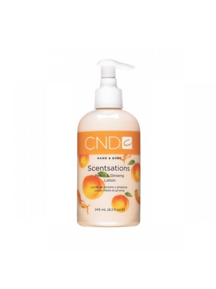 CND Scentsations лосьон с экстрактом женьшеня и запахом персика