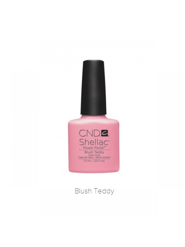 CND Shellac Blush Teddy,