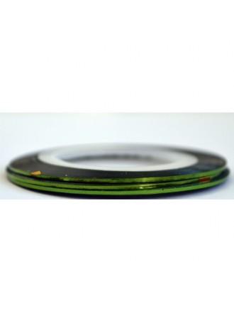Лента для дизайна зеленая
