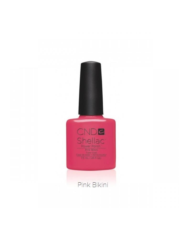 Cnd Shellac Pink Bikini №44L