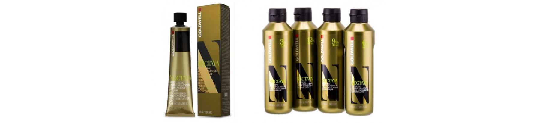 NECTAYA - стойкая краска для волос без аммиака тюбики, (60 мл.)