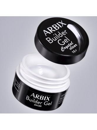 Arbix Builder Gel Clear - Гель для наращивания и укрепления ногтей