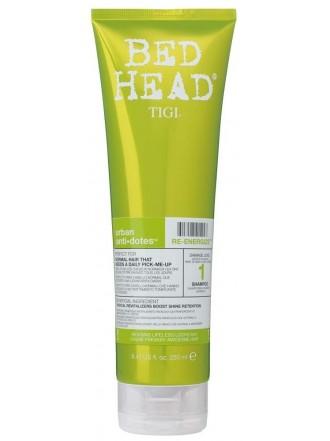 BH Urban Anti-dotes Re-energize Шампунь для нормальных волос 1 уровень, 250 мл