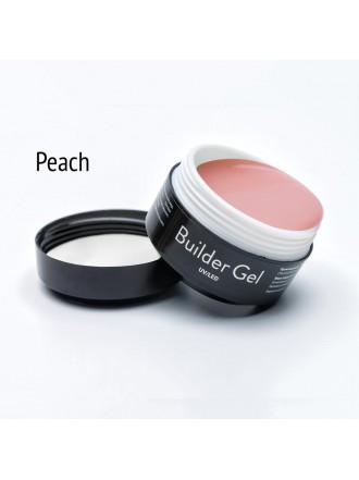 Elpaza Builder Gel Peach - Моделирующий гель, 15г