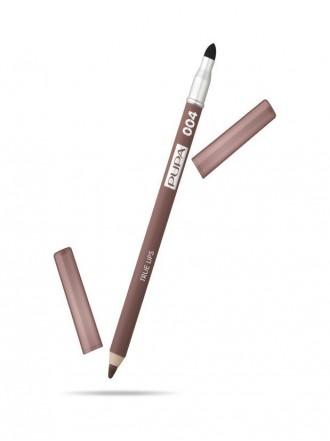 Pupa Карандаш для губ  True Lips, оттенок №004, Чистый коричневый