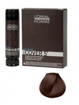 L'Oreal Professionnel Homme Cover - Тонирующий гель 5 №3, Темный шатен 150 мл