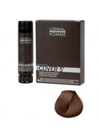 L'Oreal Professionnel Homme Cover - Тонирующий гель 5 №5, Светлый шатен 150 мл