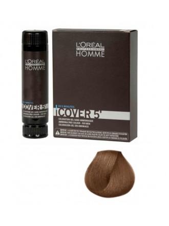 L'Oreal Professionnel Homme Cover - Тонирующий гель 5 №6, Темный блондин 150 мл
