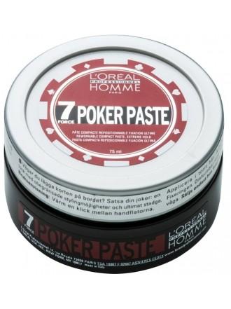 L'Oreal Professionnel Homme Poker Paste,Моделирующая паста , 75 мл