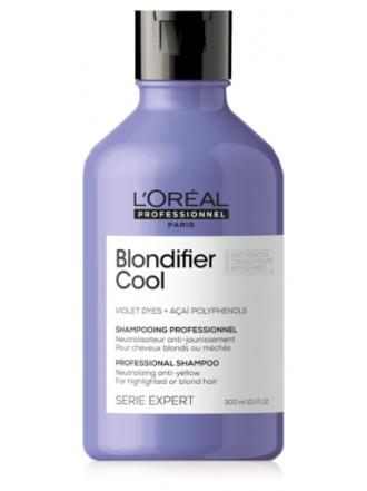 L'Oreal Professionnel Blondifier Cool Шампунь для холодного блонда, 300 мл