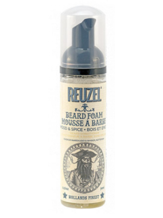 Reuzel кондиционер-пена для ухода за бородой Wood & Spice 70 мл