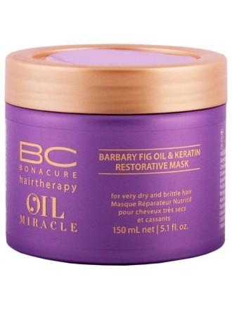 BC Bonacure Oil Miracle Barbary Fig Oil & Keratin Восстанавливающая маска для волос, 150 мл