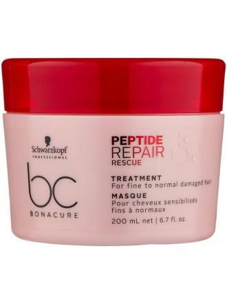 BC Bonacure Peptide Repair Rescue Маска для поврежденных волос, 200 мл