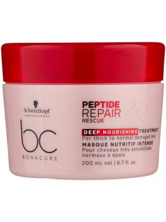 BC Bonacure Peptide Repair Rescue  Маска для волос интенсивная питательная, 200 мл