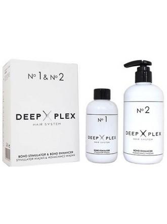 Система защиты и восстановления волос Deep Plex No.1, 6 мл + No.2, 25 мл.