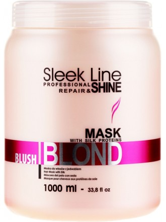Stapiz Sleek Line Blond Blush Маска, 1000 мл.