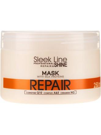 Stapiz Sleek Line Repair Маска с шелком, 250 мл.
