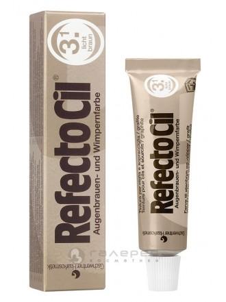 RefectoCil Краситель для бровей и ресниц № 3.1, светло-коричневый, 15 мл