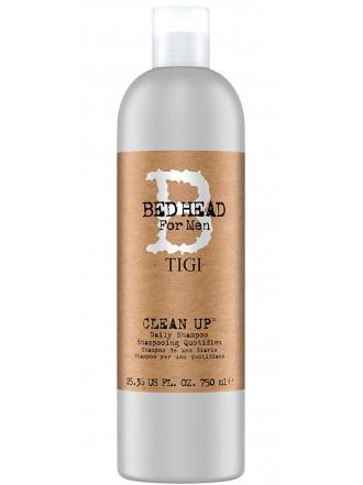 TIGI BED HEAD for Men Шампунь для ежедневного применения Clean Up Daily Shampoo 750 ml