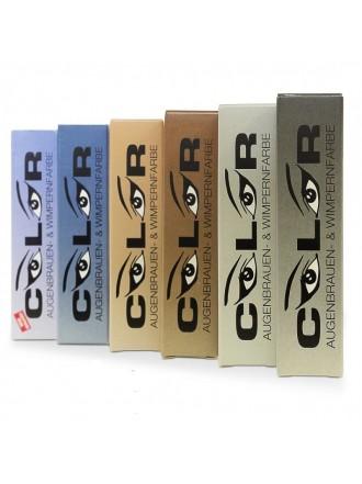 Color Eyebrow & Eyelash color, графит, 15 мл