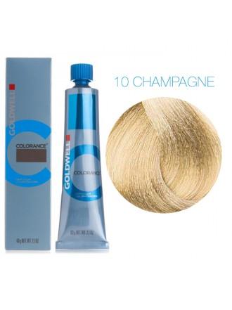 GOLDWELL 10 CHAMPAGNE шампань экстра блонд CR, 60 мл.
