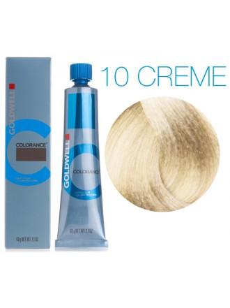 GOLDWELL 10 CREME кремовый экстра блонд CR, 60 мл.